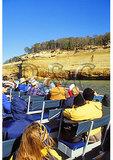 Boat tour, Pictured Rocks National Lakeshore, Munising, Michigan