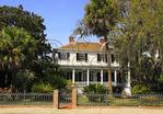 Bay Street Home, Historic District, Beaufort, South Carolina, USA