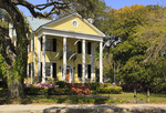 Bay Street Home, Historic District, Beaufort, South Carolina, USA
