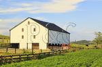 Barn, Middlebrook, Shenandoah Valley, Virginia, USA