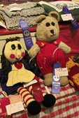 Stuffed Toys, Sewing Competition, Rockingham County Fair, Harrisonburg, Shenandoah Valley, Virginia, USA