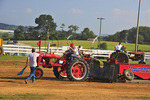 Antique Tractor Pull, Rockingham County Fair, Harrisonburg, Shenandoah Valley, Virginia, USA