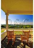 Moses Cone Mansion Porch, Moses Cone Memorial Park, Blue Ridge Parkway, North Carolina