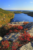 View From South Bubble Trail, Acadia National Park, Maine, USA