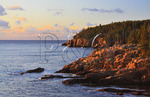 Sunrise, Otter Cliff, Acadia National Park, Maine, USA