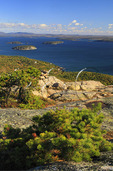 Champlain Mountain Trail, Looking at Frenchman Bay, Acadia National Park, Maine, USA