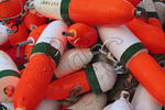 Buoys, Carvers Harbor, Vinalhaven, Maine, USA