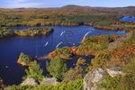 Maiden Cliff, Megunticook Lake, Maiden Cliff Trail, Camden, Maine, USA