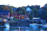 Sunrise at Harbor, Rockport, Maine, USA