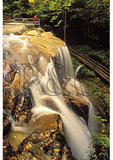 Waterfall in the Flume, Franconia Notch, New Hampshire