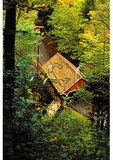 Covered Bridge, The Flume, Franconia Notch, New Hampshire