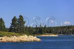 Fox Islands Electric Cooperative Wind Turbines, Vinalhaven Island, Maine, USA