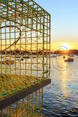 Sunset, Carvers Harbor, Vinalhaven, Maine, USA