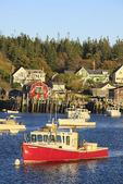 Carvers Harbor, Vinalhaven, Maine, USA