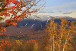 Mount Lafayette Seen From Sunset Hill, Sugar Hill, White Mountains, New Hampshire, USA