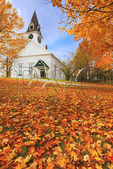 Meeting House, Sugar Hill, White Mountains, New Hampshire, USA