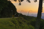 Sunrise Near Waynesville, Blue Ridge Parkway, North Carolin, USA