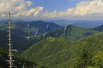 View of Maggie Valley From Waterrock Knob, Blue Ridge Parkway, North Carolin, USA