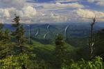 View From Waterrock Knob, Blue Ridge Parkway, North Carolin, USA