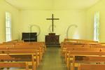 Palmer Chapel in Cataloochee Valley, Great Smoky Mountains National Park, North Carolina, USA