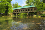 Emerts Cove Covered Bridge, Pittman Center, Tennessee, USA