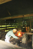 Blacksmith, Cable Place, Cades Cove, Great Smoky Mountains National Park, Tennessee, USA