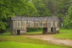 Cable Barn, Cades Cove, Great Smoky Mountains National Park, Tennessee, USA