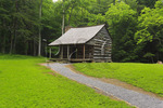 Carter Shields Cabin, Cades Cove, Great Smoky Mountains National Park, Tennessee, USA
