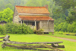 Dan Lawson Cabin, Cades Cove, Great Smoky Mountains National Park, Tennessee, USA