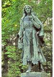Mary Jemison Statue, Letchworth State Park, Castile, New York