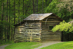 Elijah Oliver Outbuilding, Cades Cove, Great Smoky Mountains National Park, Tennessee, USA