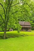 Henry Whitehead Cabin, Cades Cove, Great Smoky Mountains National Park, Tennessee, USA