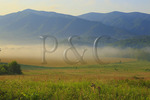 Sunrise, Cades Cove, Great Smoky Mountains National Park, Tennessee, USA