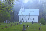 Methodist Church,Cades Cove, Great Smoky Mountains National Park, Tennessee, USA