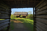 Tipton Barn, Cades Cove, Great Smoky Mountains National Park, Tennessee, USA