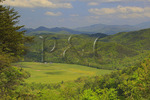 View From The Foothills Parkway, Townsend, Tennessee, USA