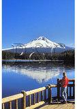 Mount Hood and Trillium Lake, Mount Hood National Forest, Oregon