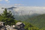 View From Appalachian Trail, Blackrock Mountain, Shenandoah National Park, Virginia, USA