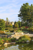 Garden of the Five Senses, Coastal Maine Botanical Gardens, Boothbay, Maine, USA