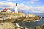 Portland Head Light, Cape Elizabeth, Maine, USA