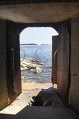 Fort Popham, Popham Beach, Phippsburg, Maine, USA