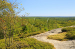 Summit, Bradbury Mountain State Park, Pownal Center, Maine, USA