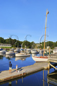 Perkins Cove, Ogunquit, Maine, USA