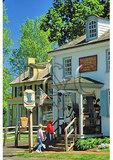Visitors at Taylorsville Store, Washington Crossing Historic Park, Washington Crossing, Pennsylvania