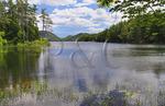 Eagle Lake Loop Carriage Road, Eagle Lake, Acadia National Park, Maine, USA