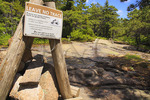 Gorham Mountain Trail, Acadia National Park, Maine, USA