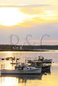 Sunrise, Prospect Harbor Point Lighthouse, Prospect Harbor, Maine, USA