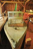 Beals Island Lobster Boat, Penobscot Marine Museum, Searsport, Maine, USA