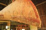 Penobscot Ocean Canoe, Abenaki Ekwiten, Penobscot Marine Museum, Searsport, Maine, USA