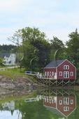 Lobster dock, South Brooksville, Maine, USA